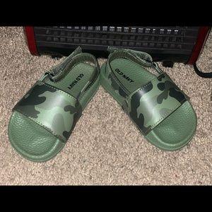 Army Fatigue Sandals